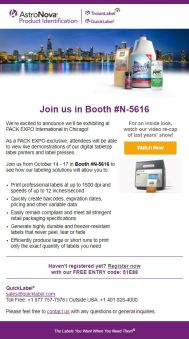 Pack-Expo-PreShow-2018_Email1-See our total labeling solutions exclusively at PACK EXPO!