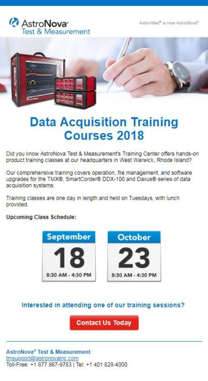 T&M_Training_Email